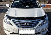 Дефлектор Хендай Соната YF (мухобойка на капот Hyundai Sonata YF)