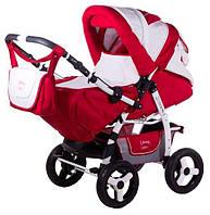 Детская коляска трансформер «Young» Adamex 619925, красный