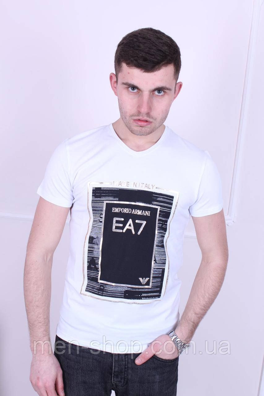 Турецкая летняя футболка Emporio Armani