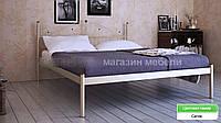 Кровать металлическая Розана - 1 / Rosana - 1 двухспальная 180 (Метакам) 1870х2100х1010 мм