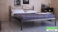 Кровать металлическая Розана - 1 / Rosana - 1 двухспальная 160 (Метакам) 1670х2100х1010 мм