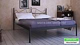 Кровать металлическая Розана - 1 / Rosana - 1 двухспальная 160 (Метакам) 1670х2100х1010 мм , фото 6