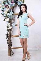 Летнее женское платье Делли мята ТМ Irena Richi 42-48 размеры