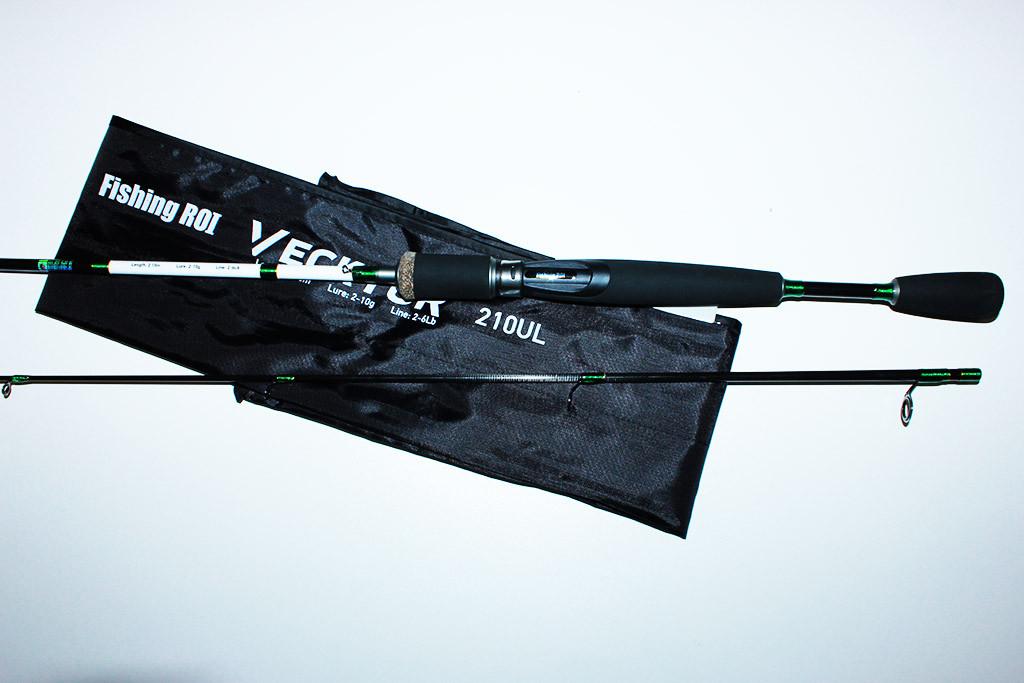 Спінінг Fishing Roi Vecktor 2.10 м.(тест 2-10 р.)