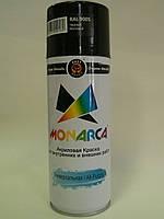 Краска аэрозольная MONARCA RAL 9005 Черный матовый