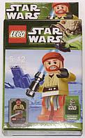 """Фигурка-конструктор для детей 5-12 лет """"Звездные войны. Оби-Ван Кеноби"""" LEBQ Star Wars Obi-Wan Kenobi №1671"""
