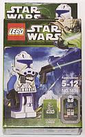 """Фигурка-конструктор для детей 5-12 лет """"Зведные войны. Капитан Рекс"""" LEBQ Star Wars Capitan Rex №1676"""