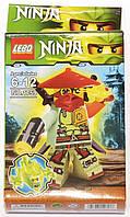 """Фигурка-конструктор для детей от 6 до 12 лет """" Ниндзяго. Зейн"""" LEBQ Ninja №1759"""