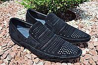Carlo Delari мужские туфли из натуральной замши, фото 1