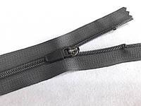 Молния спиральная СПОРТ № 5, 16 см (серый) неразъемная (С5016)