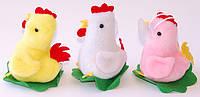 """Мягкая игрушка-присоска """"Цыпленок на травке"""" (В наборе 12 шт.)"""