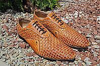 SACCIO Мужские туфли из ручной работы высшего качества, фото 1