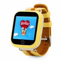 Детские умные смарт часы Smart Baby Watch Q750 (Q100s) с GPS трекером (оранжевые) Харьков