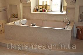 Облицовка ванных комнат мрамором