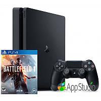 Sony PlayStation 4 (PS4) Slim 1Tb Battlefield 1 Bundle (Русская версия)