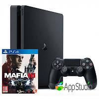 Sony PlayStation 4 (PS4) Slim 500Gb Mafia 3 Bundle (Русская версия)