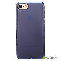 Чехол Baseus Simple Series Case For iPhone 7( Anti-Shock)Transparent Blue