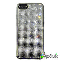 Чехол Luxury Crystal TPU Case for iPhone 7 Silver
