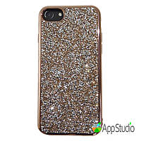 Чехол Rock Crystal TPU Case for iPhone 7 Rose Gold