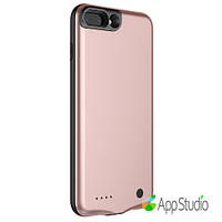 Чехол- батарея Baseus Geshion Backpack Power Bank 2500MAH For iphone7 Plus Rose Gold