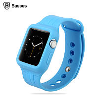 Ремешок FRESH-COLOR PLUS SERIES sports watchband for Apple Watch 42mm Blue