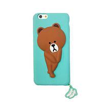 Чехол-накладка Disney Linefriends iPhone 6 Mint