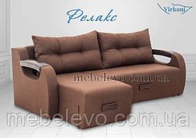 Угловой диван Релакс 2280х1690мм Боннель160х200 Виркони