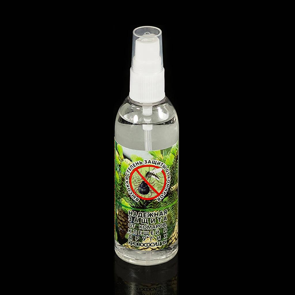 Тайга спрей репелент 100 мл. средство от комаров