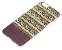 """Чехол-накладка Mannwood Case Wood Enricos Viola Check/Black for iPhone 6 4.7"""""""