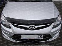 Дефлектор Хендай i30 ФД (мухобойка на капот Hyundai i30 FD)