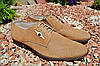 Мужские туфли Мида из натуральной перфорированной кожи