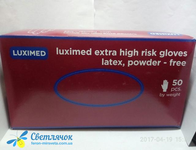 Luximed Перчатки упаковка