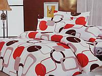 Хлопковые двухспальные комплекты из жатки, фото 1