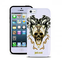 PURO JUST CAVALLI Skull for iPhone 5/5S White