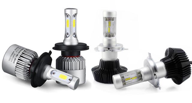 Лампы светодиодные для головного света автомобилей