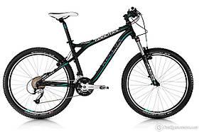 """Велосипед Kellys COOL TOOL 26"""" рама 21"""" 2013 черный / зеленый 20133521"""