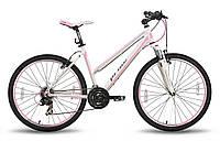 """Велосипед 26"""" STELLA 2015 рама-18"""" білий/рожевий/матовий (SKD-22-11) Pride"""