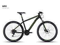 "Велосипед 27,5"" Kato 2 2016 black/green/gray M (16KA3717) Ghost"