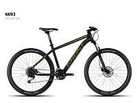 "Велосипед 27,5"" Kato 3 2016 black/green/gray L (16KA3732) Ghost"