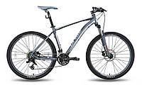 """Велосипед 27,5"""" XC-650 MD 2015 рама-19"""" чорний/сірий/матовий (SKD-96-17) Pride"""
