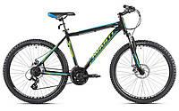 """Велосипед AVANTI 29"""" SMART AL 2016 рама 21"""" чорний/зелений AV000059"""