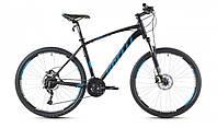 """Велосипед 26"""" SX-5700 2016 рама 21"""" чорно/блакиний/матовий (SP000081) SPELLI"""