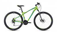 """Велосипед 27,5"""" SX-5200 650B 2016 рама 19"""" зелено/блакитний/матовий (SP000084) SPELLI"""