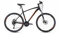 """Велосипед 27,5"""" SX-5700 650B 2016 рама 19"""" чорно/помаранчевий/матовий (SP000085) SPELLI"""