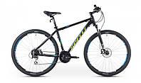 """Велосипед 26"""" SX-5500 2016 рама 19"""" чорно/зелений/матовий (SP000082) SPELLI"""