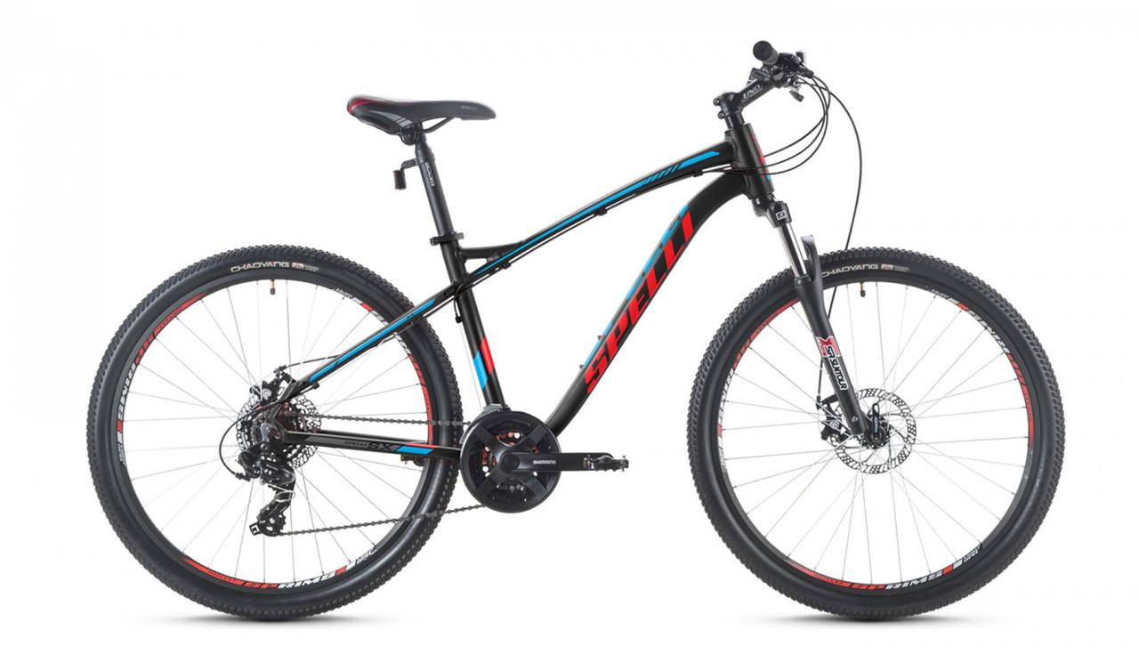 """Велосипед SPELLI 29"""" SX-3200 2016 рама 19"""" чорно/червоний/матовий SP000094"""