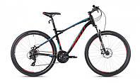 """Велосипед 29"""" SX-3200 2016 рама 19"""" чорно/червоний/матовий (SP000094) SPELLI"""