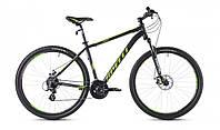 """Велосипед 29"""" SX-3500 2016 рама 19"""" чорно/зелений (SP000093) SPELLI"""