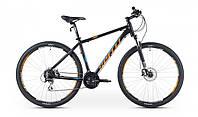 "Велосипед 29"" SX-5500 2016 рама 19"" чорно/помаранчевий/матовий (SP000089) SPELLI"