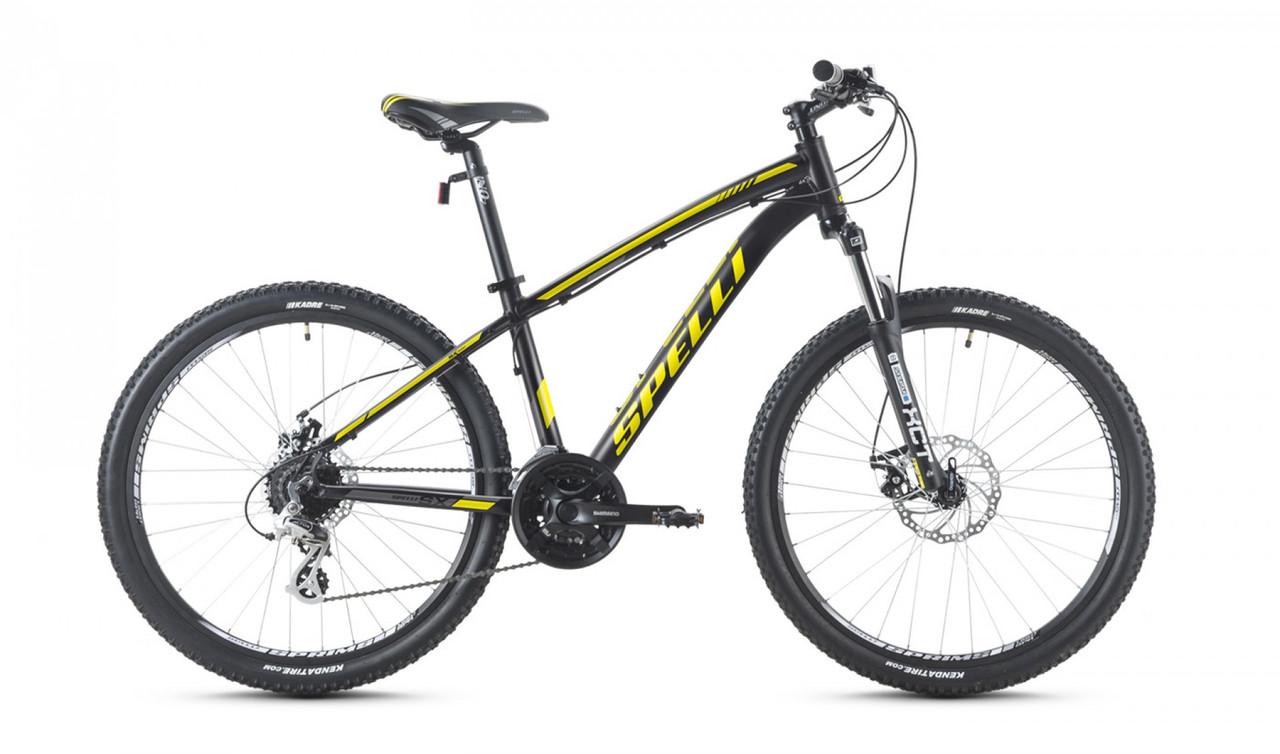 """Велосипед SPELLI 26"""" SX-4000 Disk 2016 рама 15"""" чорний/матовий SP000096"""